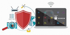 instalación de backup, firewall, antivirus y antispam
